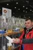 Ja i moje Barwnogłówki Królewieckie na Europejskiej Wystawie Gołębi, Lipsk grudzień 2012r